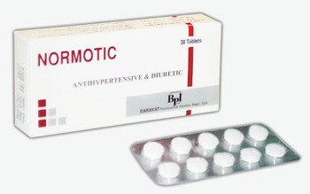 Some pills brand-named 'normotic'